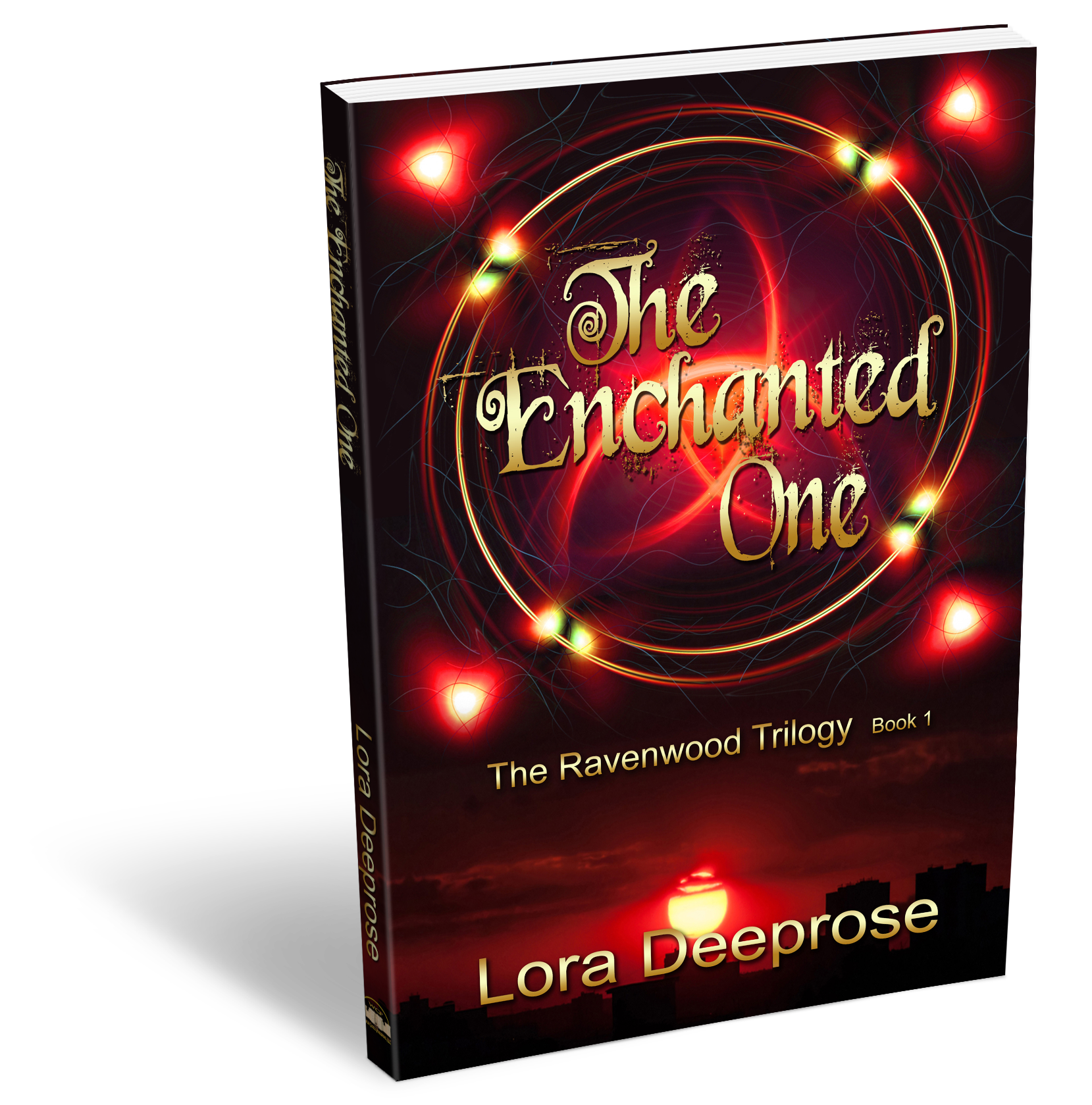 Books writing lora deeprose the enchanted one 3d book cover fandeluxe Images