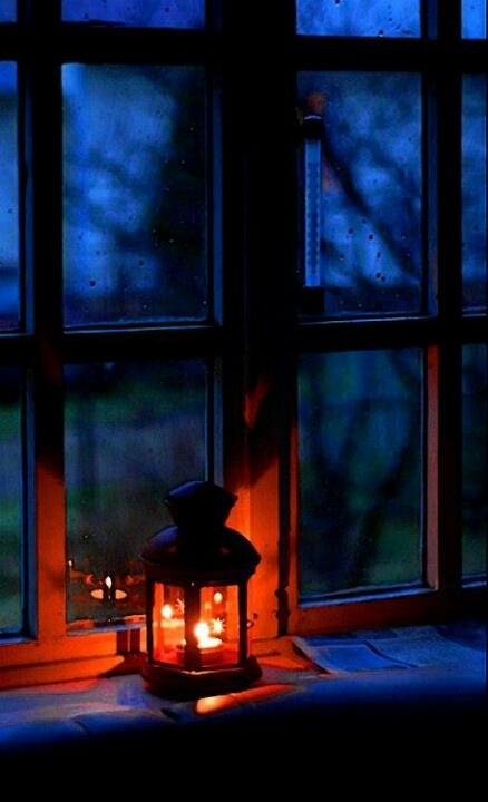 candlelight window